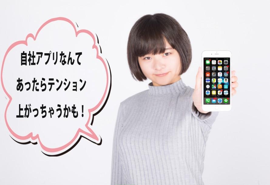 オリジナルアプリの開発