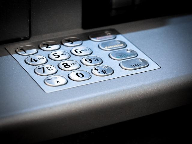 銀行 ATM