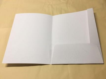 マチ付き紙ファイルダミー