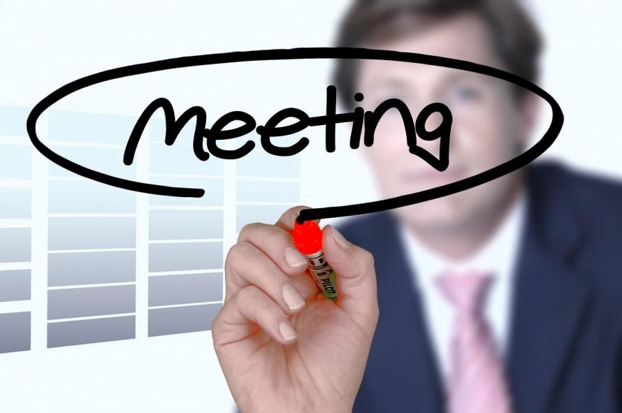 定期ミーティング 定期訪問
