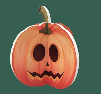 かぼちゃスタンド