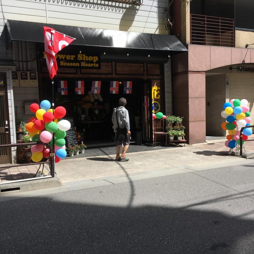 新規開店店舗装飾
